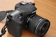 DSLR Camera with Wide Angle Zoom Lens