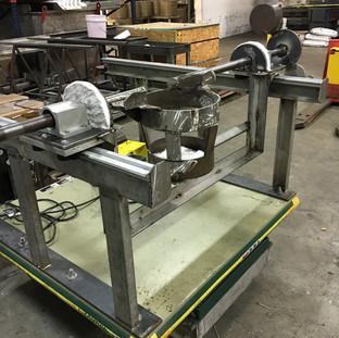 custom made hydraulic lifting table