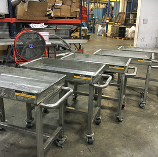 stainless steel delivry carts