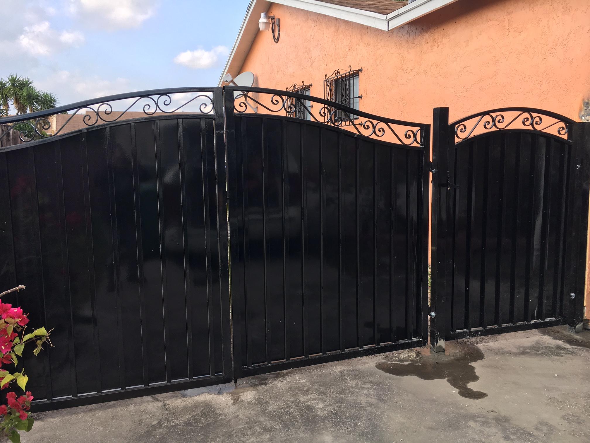 Sliding_gate_Miami Gardens_South_florida