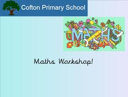 Parent Workshop Maths Larch Nov 17_1