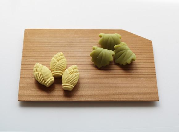 竹の子 柏葉