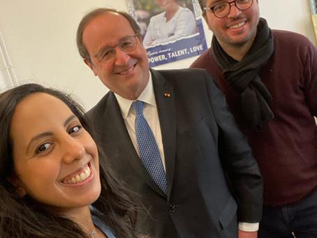 Visite de François Hollande à la Mama Academy 🇫🇷🎓