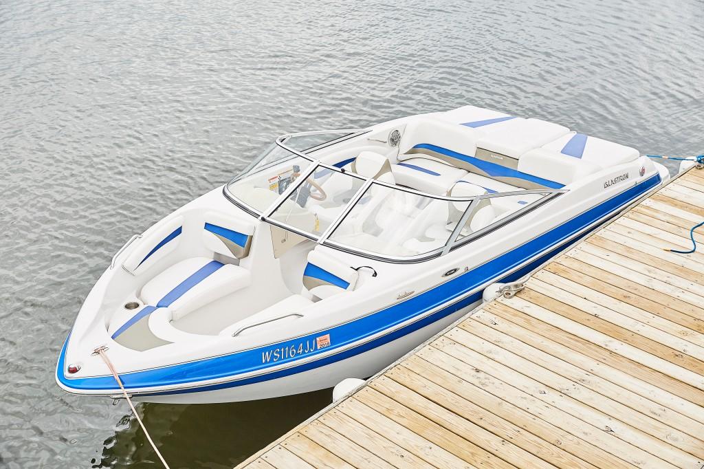 Barbara's lake boat