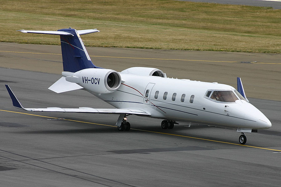 RBA's 'Firebird' in Lear Jet  mode