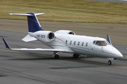 RBA's 'Firebird' in Lear Jet  mode