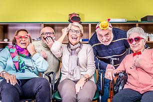 Seniors having fun together!