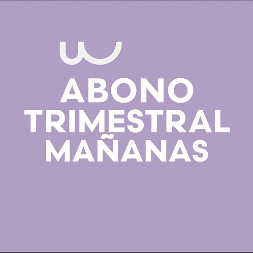ABONO TRIMESTRAL MAÑANAS