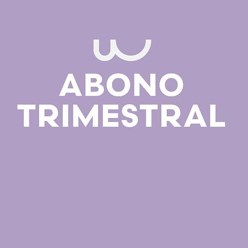ABONO TRIMESTRAL