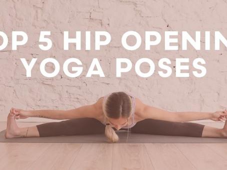 5 posturas para trabajar la apertura de caderas