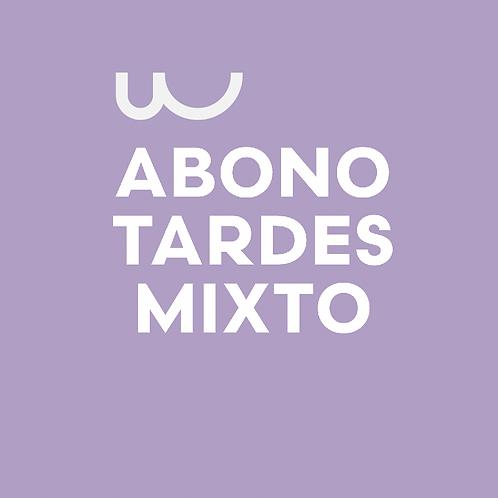 ABONO TARDES MIXTO