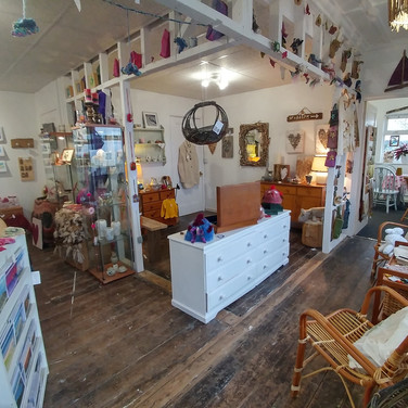 Our shop, located in Ogmore-by-Sea, Wales