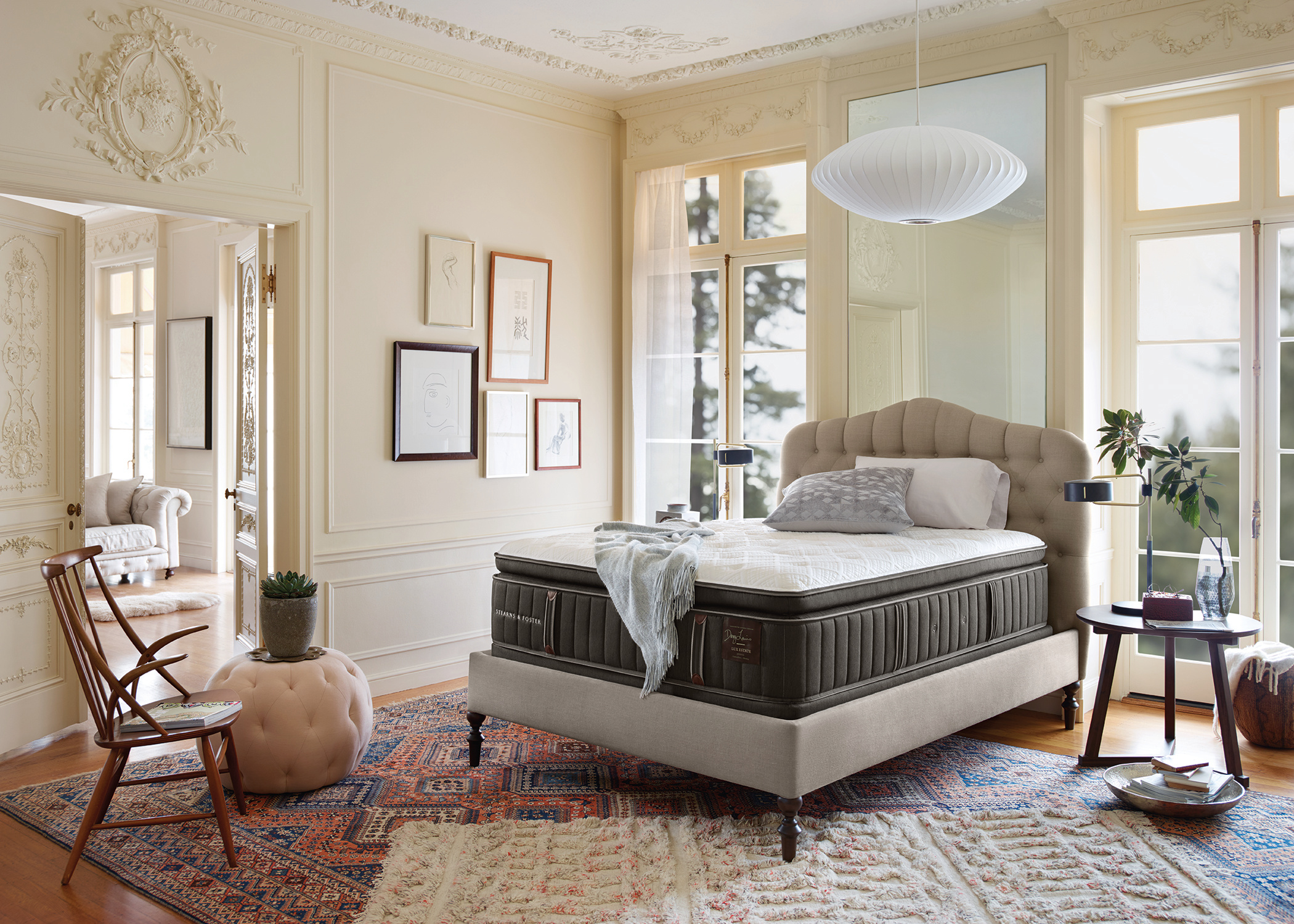 Stearns & Foster Mattress Lux Estate