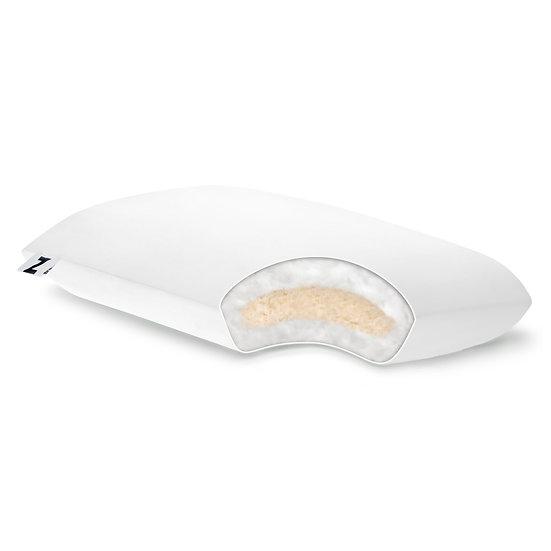 Shredded Latex + Gelled Microfiber Pillow