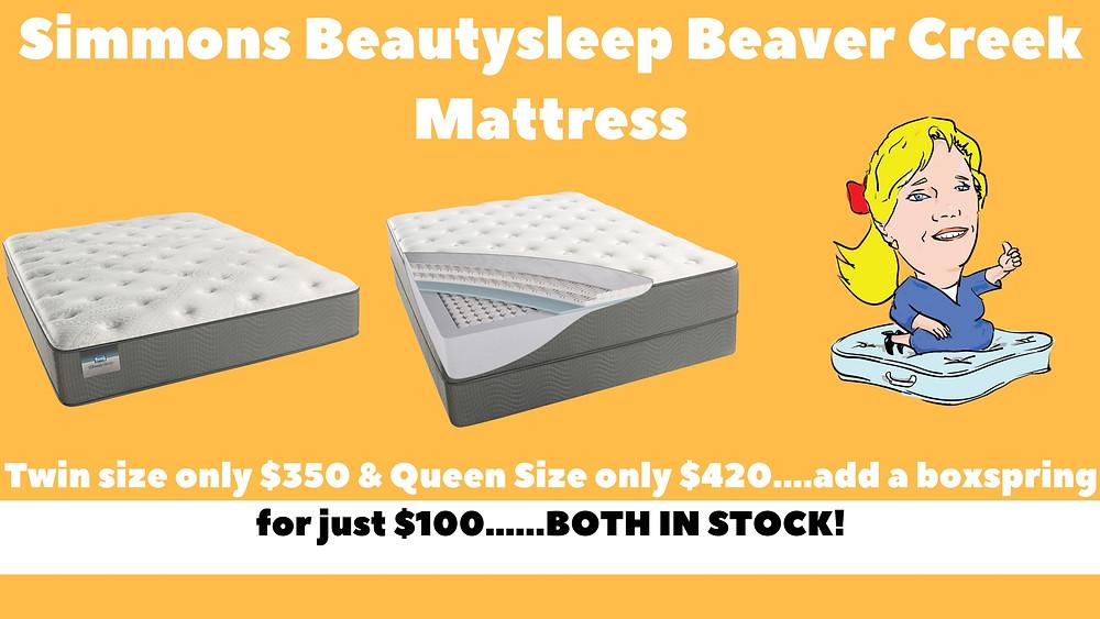 Simmons BeautySleep Beaver Creek Mattress