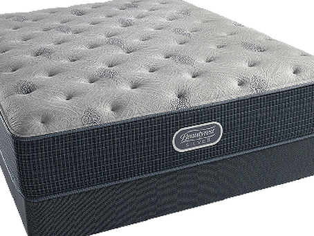 Simmons Beautyrest Sliver Charcoal Caost Luxury Firm Mattress $600