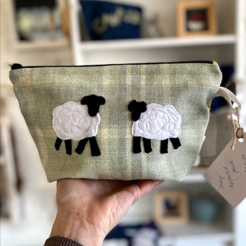 Sew Made Bits n' Bobs Pouch - Sheep