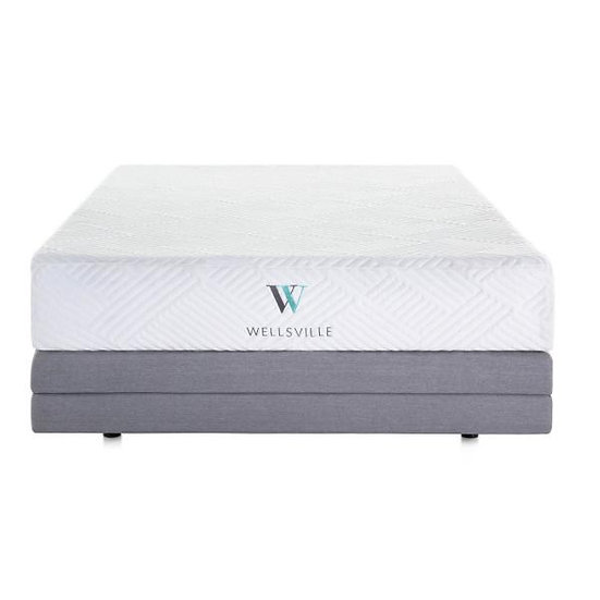 Cal-King WELLSVILLE 11 INCH GEL FOAM MATTRESS Plush Adjustable Base