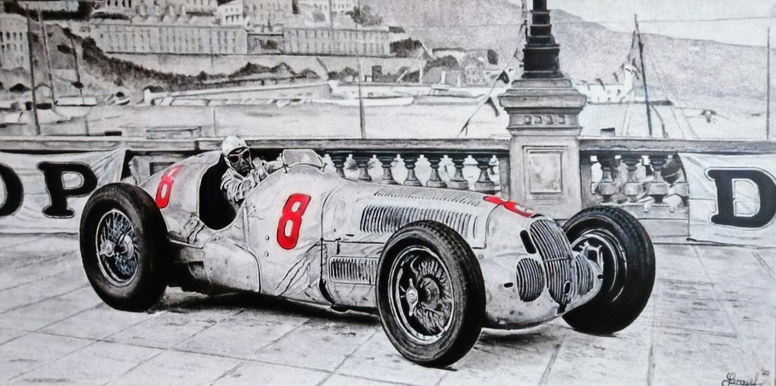 Rudolf Caracciola MB W125