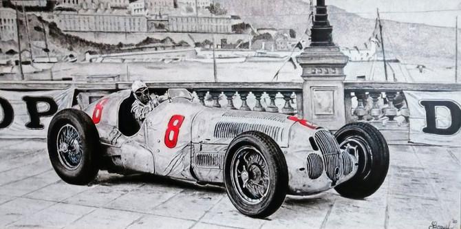 Rudolf Caracciola in MB W125