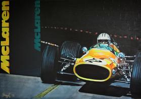 Denny Hulme exiting the tunnel in Monaco GP ´68