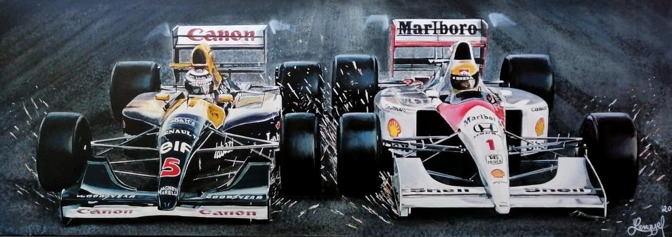 Mansell - Senna