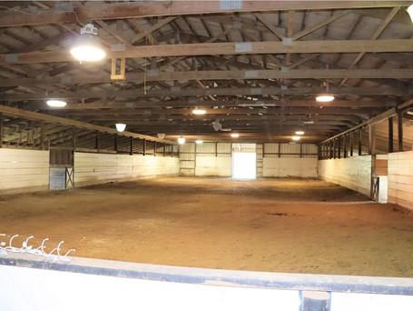 Indoor arena 57x140