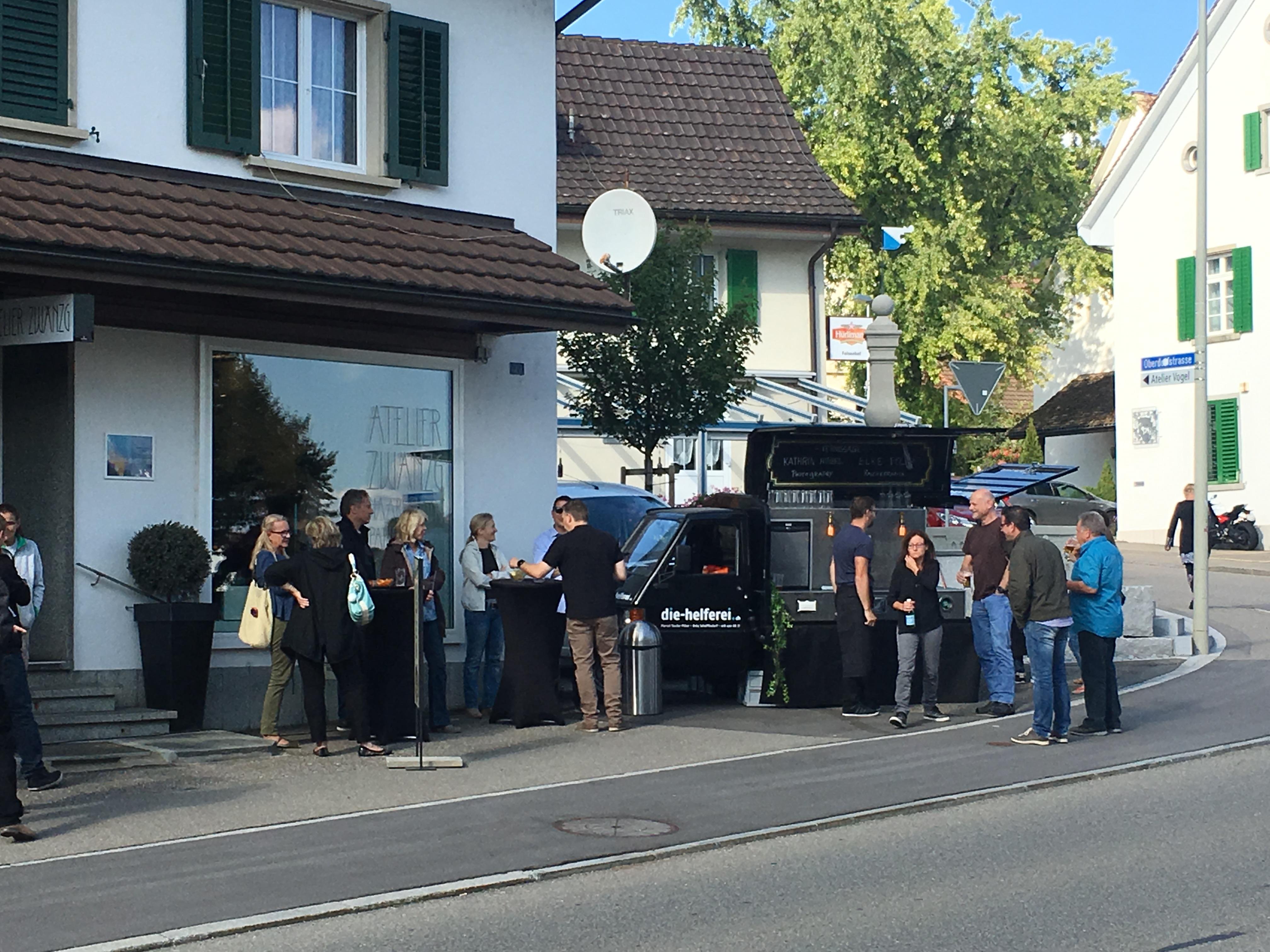 Vernissage Atelier Zwänzg Schöfflisdorf