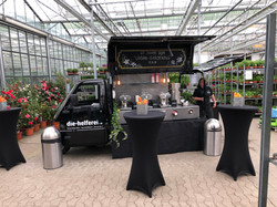 Mobile Kaffee-Bar Blumenbörse Mörschwil