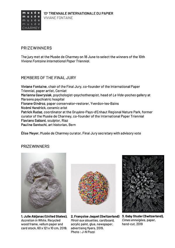 10. Internationale Triennale Charmey 202