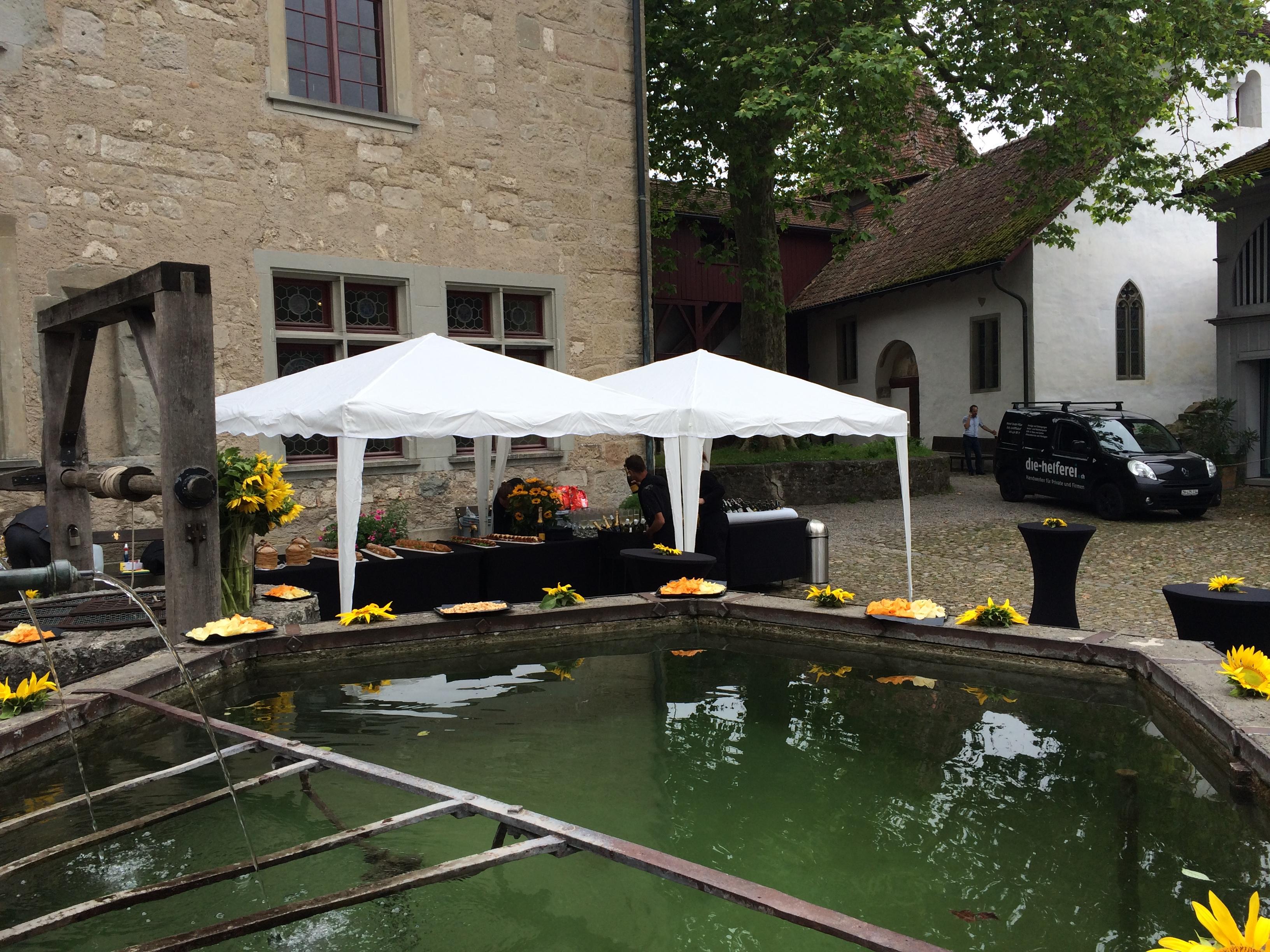 Hochzeitapéro Kyburg