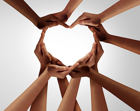 Unity%20and%20diversity%20partnership%20as%20heart%20hands%20in%20a%20group%20of%20diverse%20people%