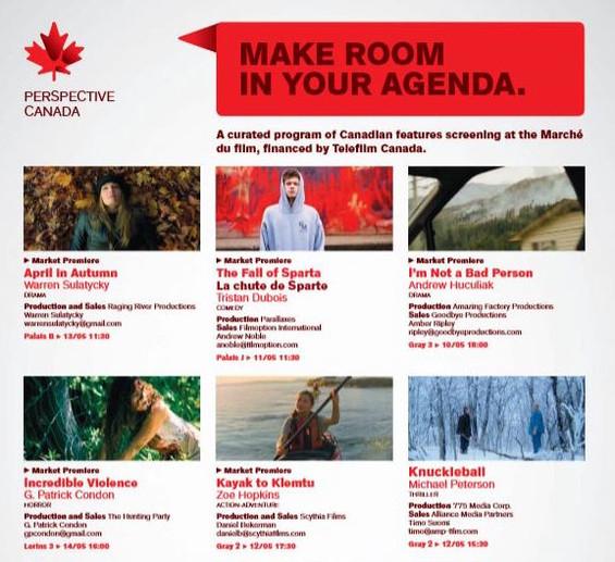 RDV Cannes Page in Screen Magazine
