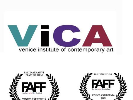 Jasmine Road Triple Award Winner at Fine Arts Film Festival, Venice CA.
