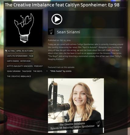 Creative Imbalance Podcast Interview
