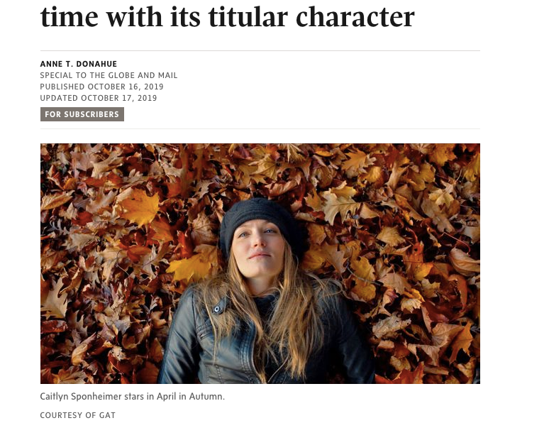 Globe and Mail Review
