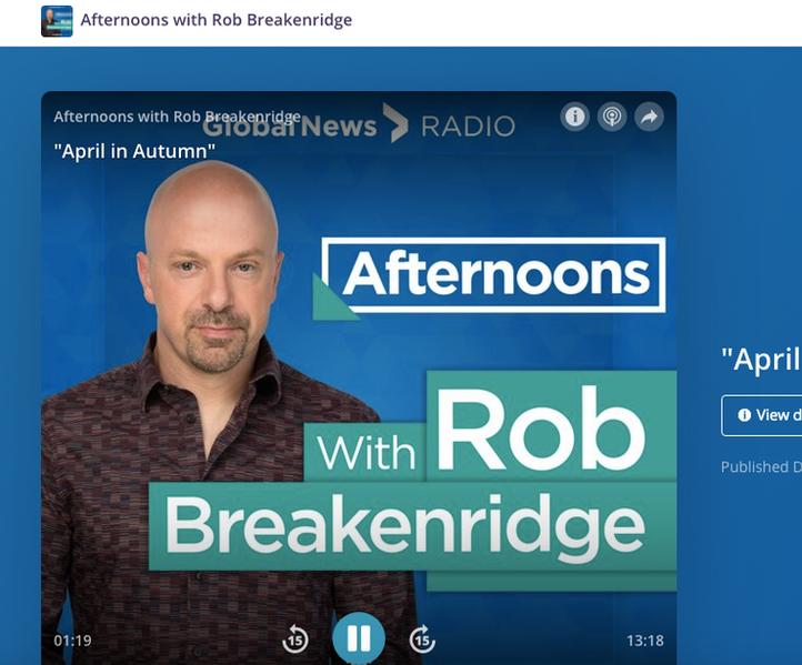 Global News Rob Breakenridge Intervi