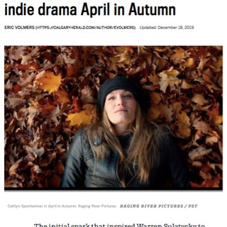 Calgary Herald Interview