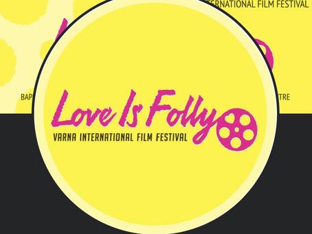 Jasmine Road an Official Selection at the Love Is Folly/Varna International Film Festival, Bulgaria