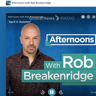 Global News Rob Breakenridge Interview