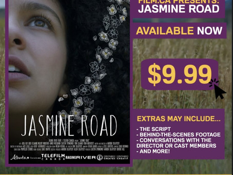"""JASMINE ROAD LAUNCHES CANADIAN STREAMING SERVICE """"ZUZUVOD/FILM.CA PRESENTS"""", TWO WEEK FESTIVAL RUN."""