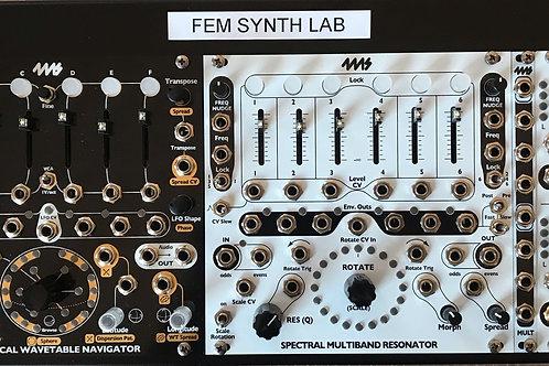 4MS Modular Resonator and Wavetable Pod (SWN/SMR)