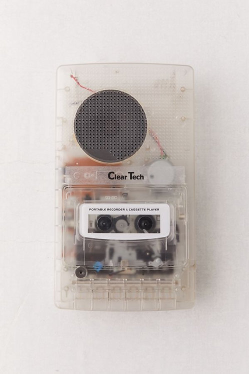 Shoebox Cassette Player