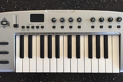 M-Audio O2 USB MIDI Controller Keyboard