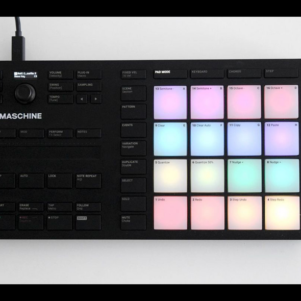11/21 Maschine Beatmaking w/ Angelica Rodriguez