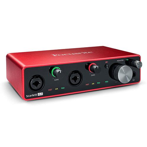 Focusrite Scarlett 4i4 (3rd Gen) Audio Interface