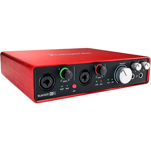 Focusrite Scarlett 6i6 (1st Gen) Audio Interface