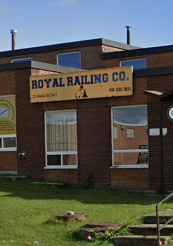 Royal Railing Store Front