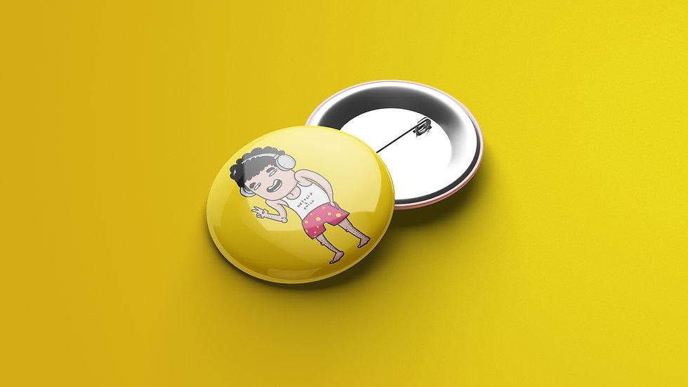 Netflix & Chill - Button Badge