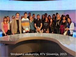 Strokovna ekskurzija RTV SLO